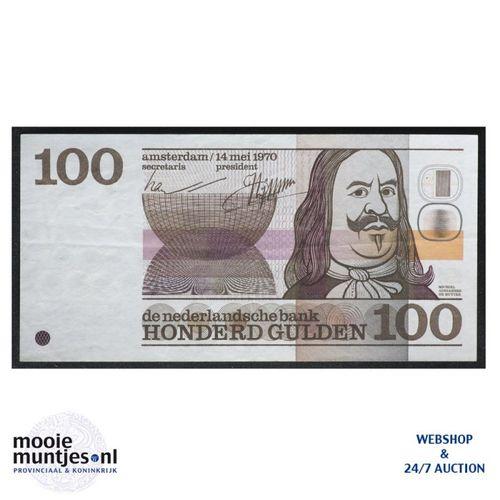 100 gulden - 1970 (Mev. 122-1 / AV 86) (kant A)