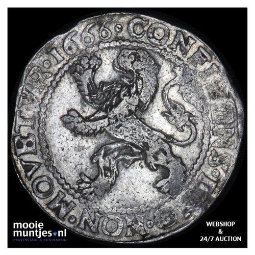 Holland - Leeuwendaalder - 1666 (kant A)