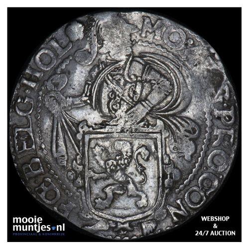 Holland - Leeuwendaalder - 1666 (kant B)