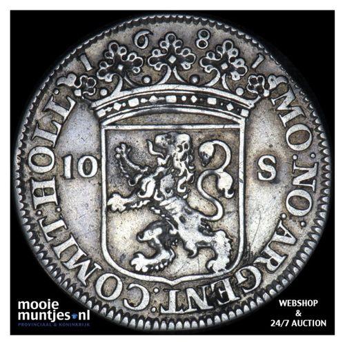 Holland - Tien stuiver - 1681 (kant A)