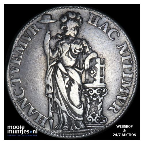 Holland - Tien stuiver - 1681 (kant B)