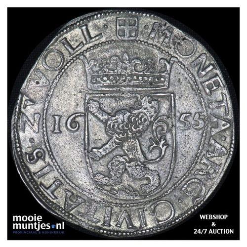 Overijssel - Nederlandse rijksdaalder - 1655 (kant A)
