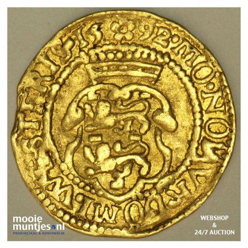 West-Friesland - Hongaarse gouden dukaat - 1592 (kant A)