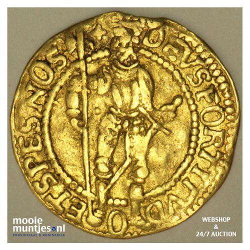 West-Friesland - Hongaarse gouden dukaat - 1592 (kant B)