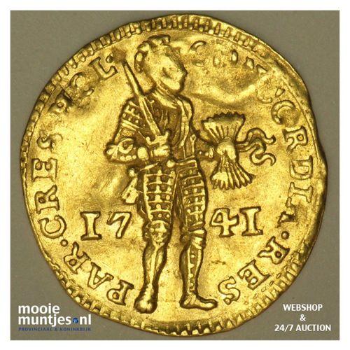 Holland - Gouden dukaat - 1741 (kant A)