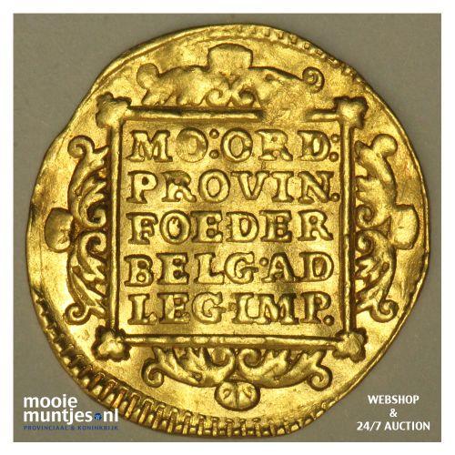 Holland - Gouden dukaat - 1741 (kant B)