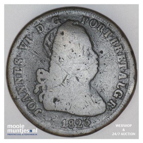 40 reis (pataco) - Portugal 1823 (KM 370) (kant A)