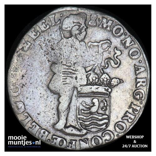 Zeeland - Zilveren dukaat - 1705 over 04 (kant B)