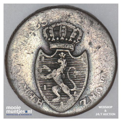 kreuzer - joint coinage - German States/Nassau 1808 (KM 10) (kant B)