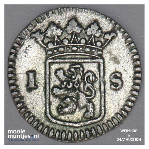 Holland - Wapenstuiver - 1726 (kant B)