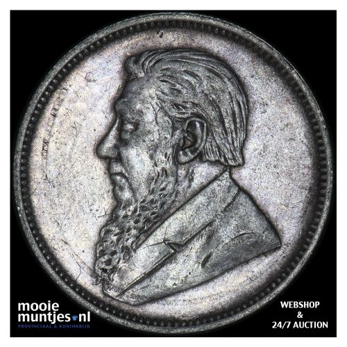 2 shillings - South Africa 1897 (KM 6) (kant B)