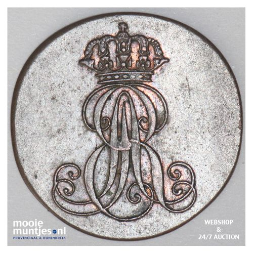 pfennig - German States/Hannover 1842 (KM 173.3) (kant B)