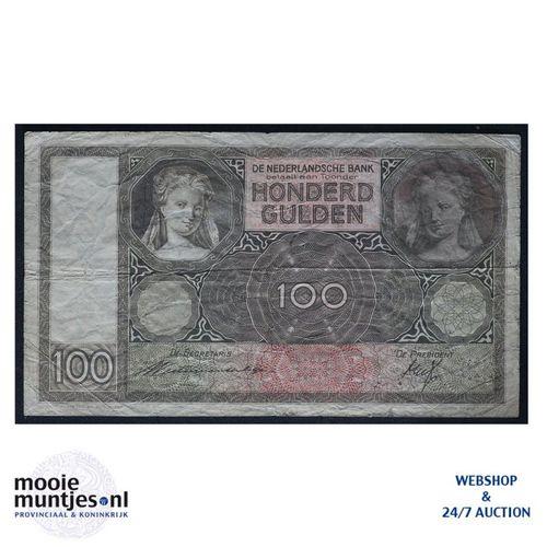 100 gulden - 1930 (Mev. 117-3 / AV 81) (kant A)