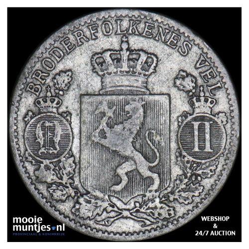 25 ore - Norway 1899 (KM 360) (kant B)