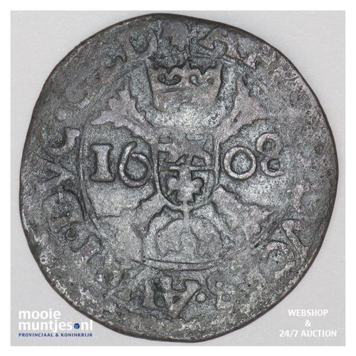 Roermond - Kwart stuiver of oord van 12 mijten - 1608 (kant A)
