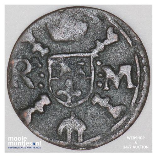 Roermond - Achtste stuiver of duit van 6 mijten - z.j. (1659-1665) (kant A)