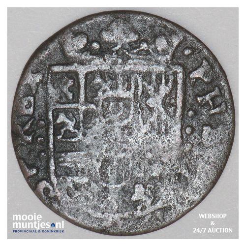 Roermond - Achtste stuiver of duit van 6 mijten - z.j. (1659-1665) (kant B)