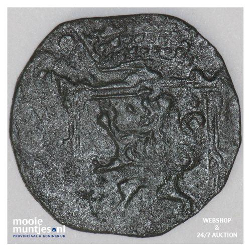 Gronsveld - Achtste stuiver of duit - z.j. (kant B)