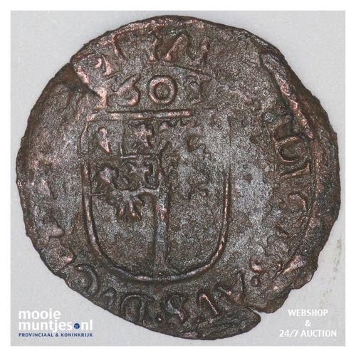 Brabant-´s-Hertogenbosch - Achtste stuiver of duit van 6 mijten - 1603 (ka