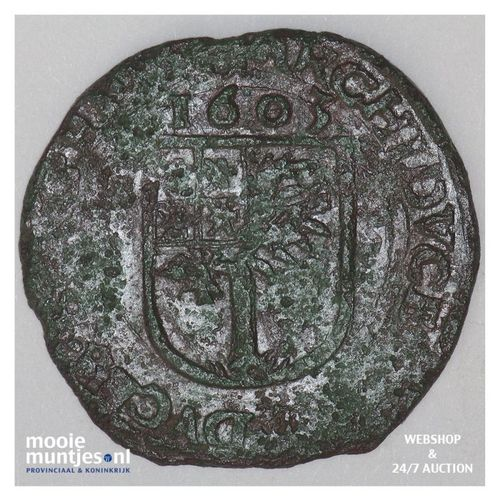 Brabant-´s-Hertogenbosch - Kwart stuiver of oord van 12 mijten - 1603 (kan