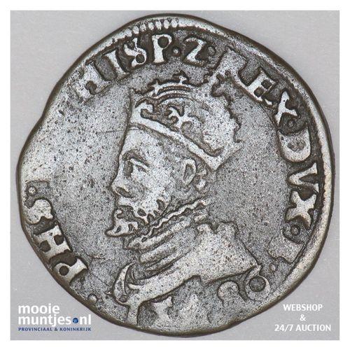 Brabant-Maastricht - Kwart stuiver of oord van 12 mijten - 1586 (kant A)