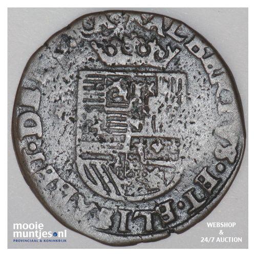 Brabant-Maastricht - Kwart stuiver of oord van 12 mijten - 1605 (kant B)