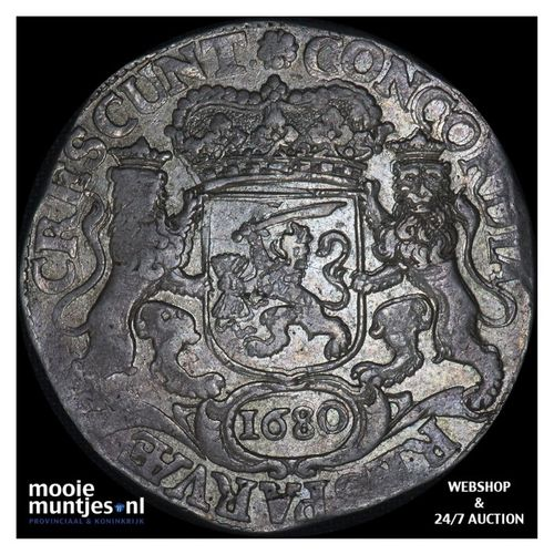 Utrecht - Dukaton - 1680 (kant A)