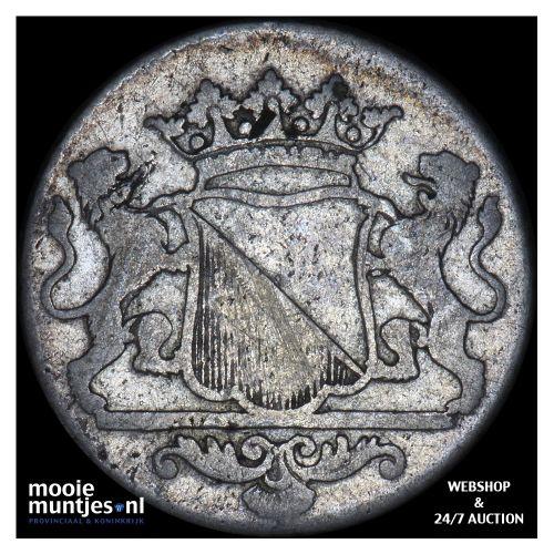 Stad Utrecht - Duit - 1762 (kant B)