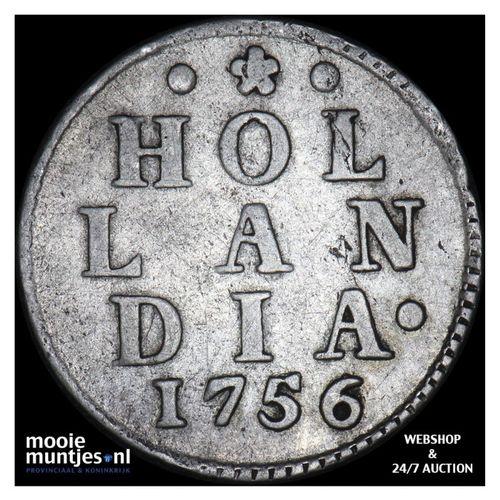 Holland - Duit - 1756 (kant A)