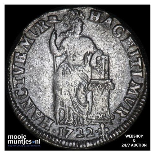Overijssel - Gulden - 1722 (kant A)