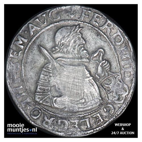 Kampen - Nederlandse rijksdaalder - 1655 (kant B)