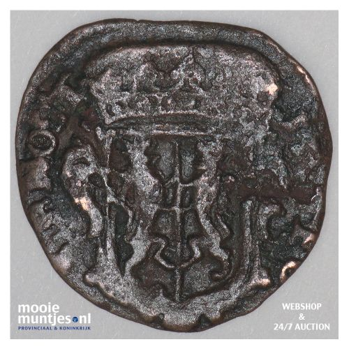 Gelderland - Duit - 1681 (kant B)