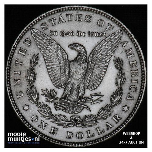 dollar - Morgan - United States of America/Circulation coinage 1887 (KM 110) (ka