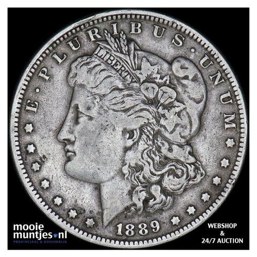 dollar - Morgan - United States of America/Circulation coinage 1889 O (KM 110) (