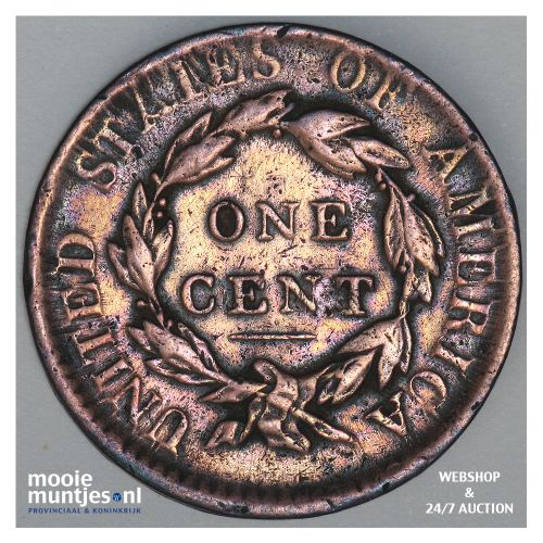 cent - coronet - United States of America/Circulation coinage 1817 (KM 45) (kant