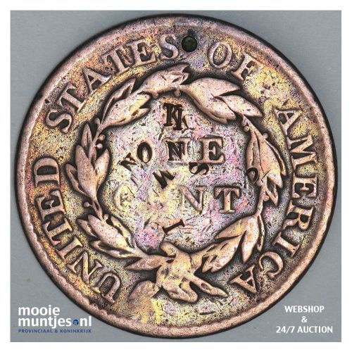 cent - coronet - United States of America/Circulation coinage 1818 (KM 45) (kant