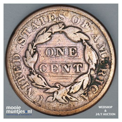 cent - coronet - United States of America/Circulation coinage 1836 (KM 45) (kant