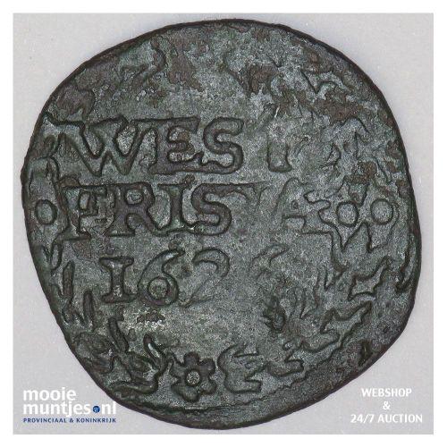 West-Friesland - Duit - 1626 (kant A)