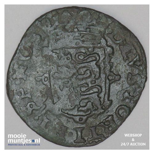 West-Friesland - Duit - 1626 (kant B)