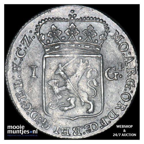 Gelderland - 1 gulden - 1795 (kant B)