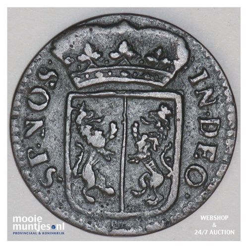 Gelderland - Duit - 1740 (kant B)