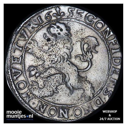Kampen - Leeuwendaalder - 1655 (kant A)
