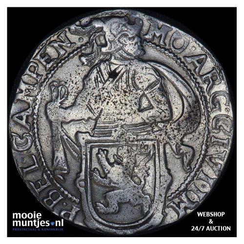 Kampen - Leeuwendaalder - 1655 (kant B)
