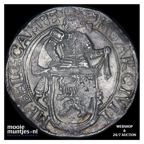 Kampen - Leeuwendaalder - 1647 over 7 (kant B)