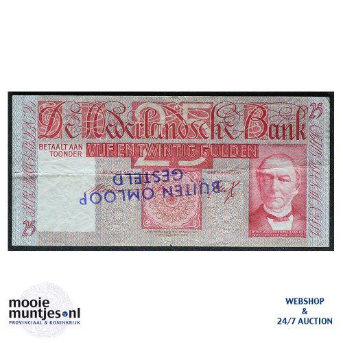 25 gulden - 1931 (Mev. 76-2 / AV 48) (kant A)