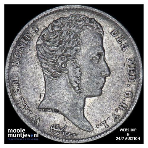 ½ gulden - Willem I - 1819 Utrecht (kant B)