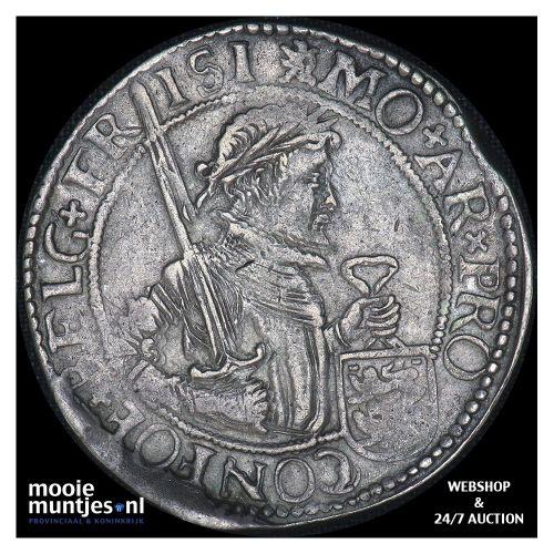 Friesland - Nederlandse rijksdaalder - 1608 (kant B)