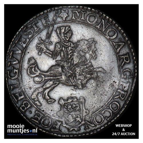 West-Friesland - Zilveren rijder of dukaton - 1673 (kant B)