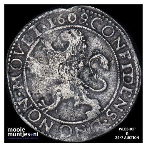 Friesland - Leeuwendaalder - 1609 (kant A)