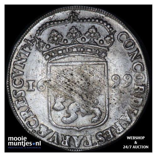 Gelderland - Zilveren dukaat - 1699 (kant A)